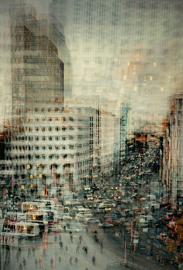 Stunning Composite Photographs Of Cityscapes Contemplate The Geometry Of Paris…