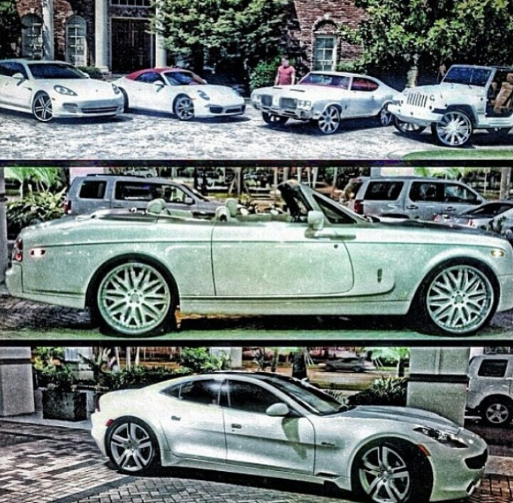 Sport Car Collections Jayde Mercedes Benz Customized: Yo Gotti's ALL WHITE Collection