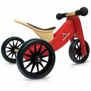 Kinderfeets Tiny Tot 2 in 1 Red