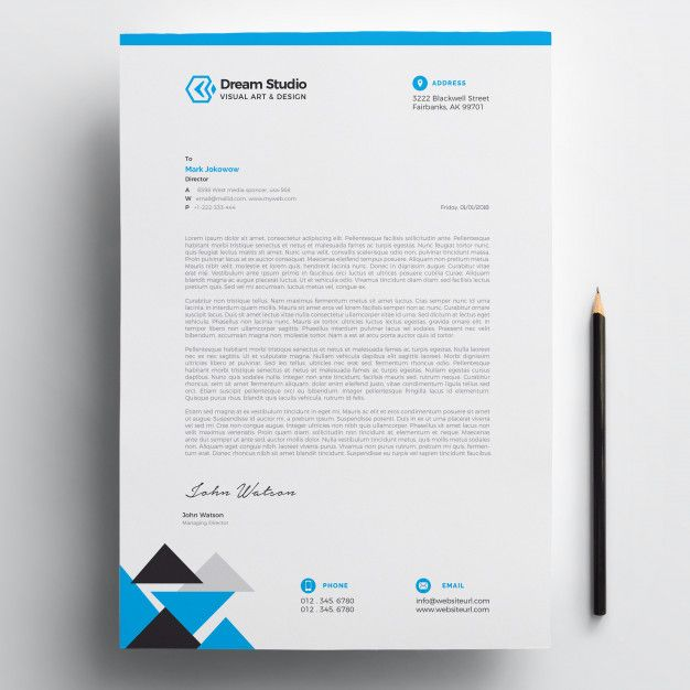 letterhead template free download  letterhead  design