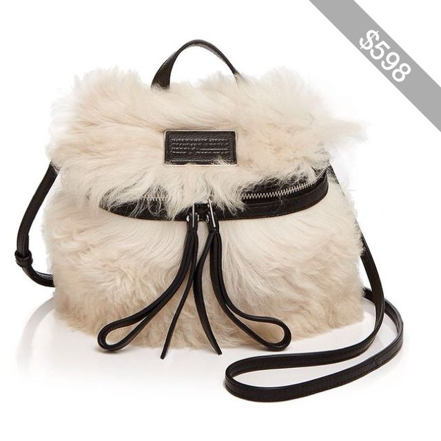 Marc By Marc Jacobs Canteen Color Block Fur Crossbody