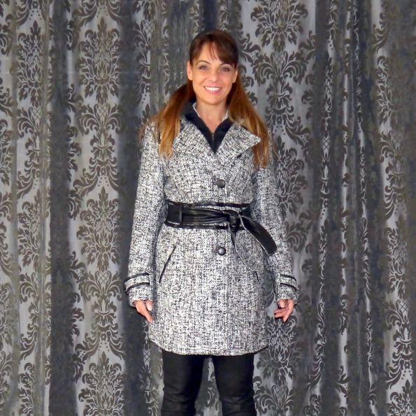 #fashion: coat #veromoda