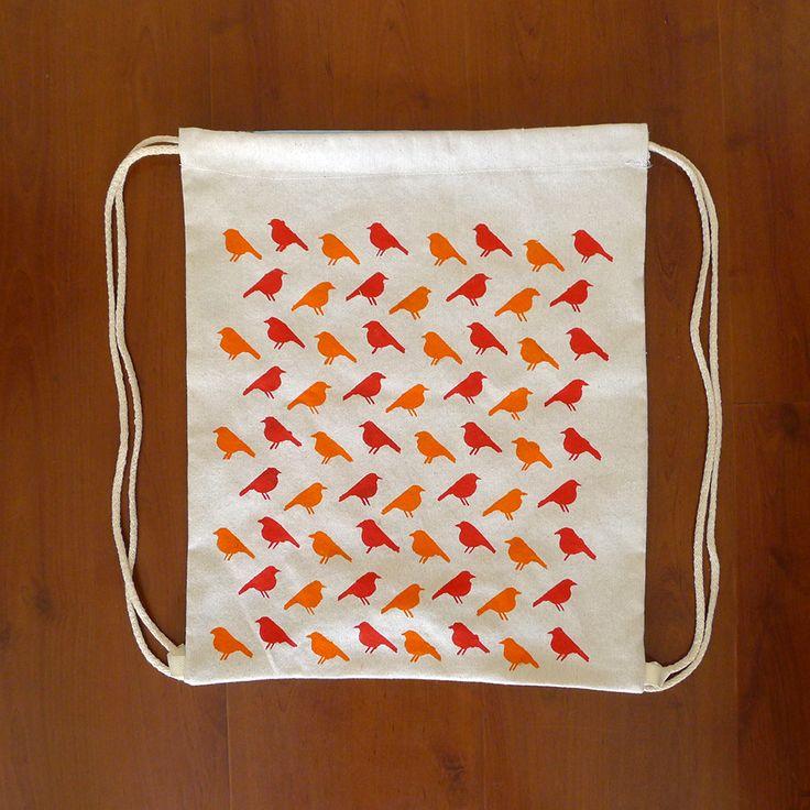 Birds Backpack www.cocoroco.cl