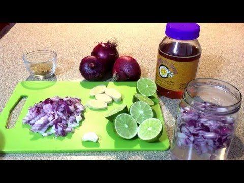 Jarabe de cebolla: elimina tos, flema y mocos parte # 1 - YouTube