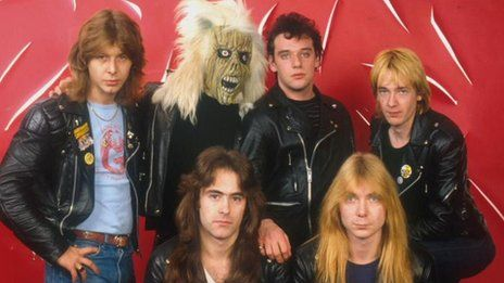 Clive Burr (far left) Iron Maiden Drummer, dies at age 56 from complications of Multiple Sclerosis.
