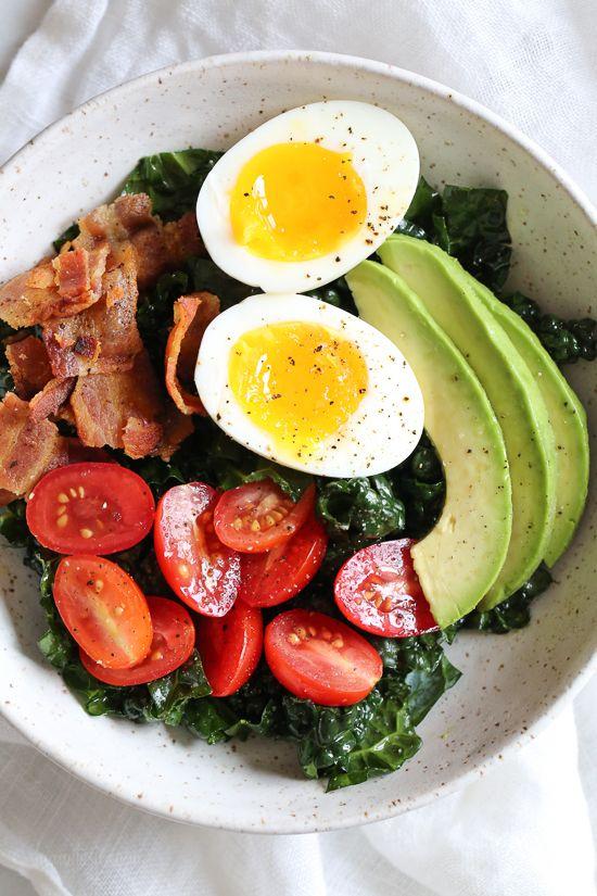 Breakfast BLT Salad | Skinnytaste