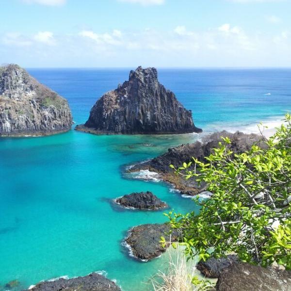 Fernando de Noronha, PE. Uma das reservas naturais mais lindas do Brasil e do mundo, um dos últimos pontos no Oceano Atlântico localizado no hemisfério sul.