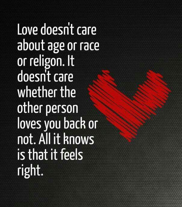 Whether it's reciprocated,  love is an amazing feeling