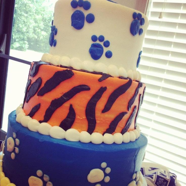 Memphis Tigers Grooms Cake
