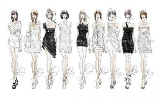 croquis e Ilustrações de Moda   Criatives   Blog Design, Inspirações, Tutoriais, Web Design