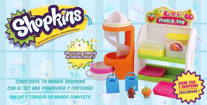 Construye tu mundo Shopkins!