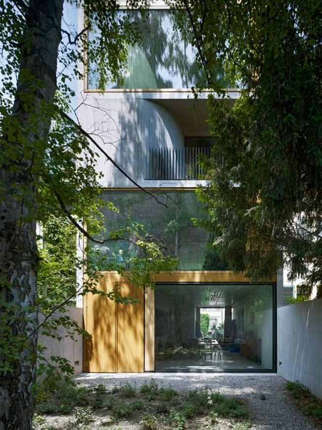 Residential House By Buchner Bründler Architects. Photography By Ruedi  Walti . Via Af