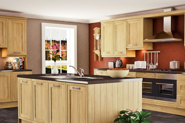 Painting Kitchen Walls | Brown Painting Colors For Kitchen Walls, Paint for Kitchens, painting ...