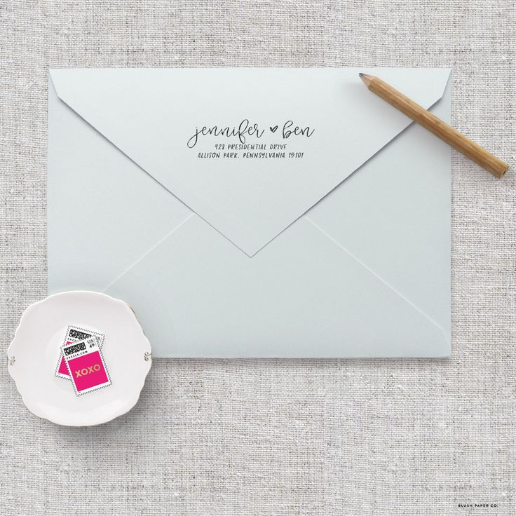 Custom Return Address Stamp - Personalized Address Stamp - Self Inking Return Address Stamp - Calligraphy Return Address Stamps by blushprintables on Etsy https://www.etsy.com/listing/274228804/custom-return-address-stamp-personalized