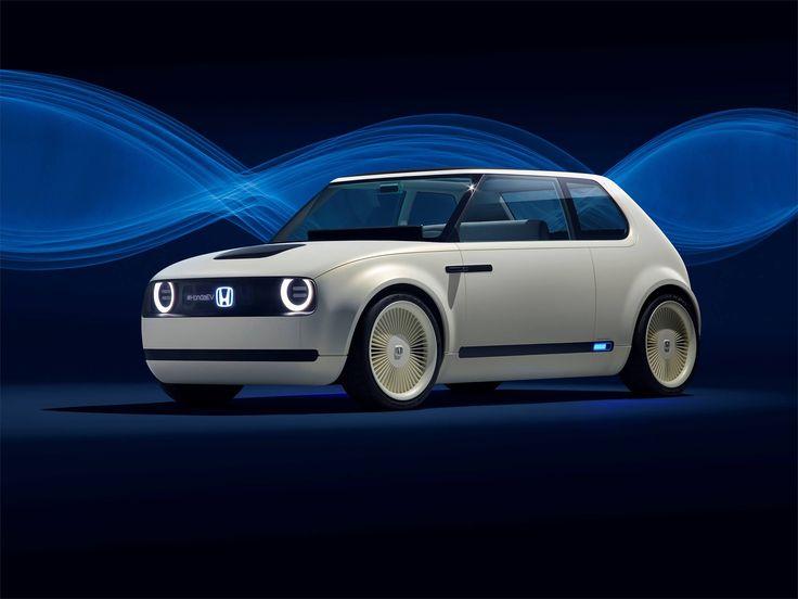 Découvrez le style néo-rétro de la Honda Urban EV Concept présentée à Francfort : une voiture électrique qui promet une expérience de conduite agréable au quotidien et dont le design est un clin d'oeil à la Honda Civic de 1ère génération. #MondialAuto