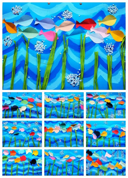 peixets de colors
