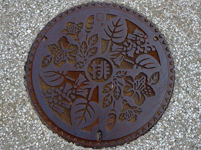 Nanto Toyama, manhole cover (富山県南砺市のマンホール) by MRSY, via Flickr