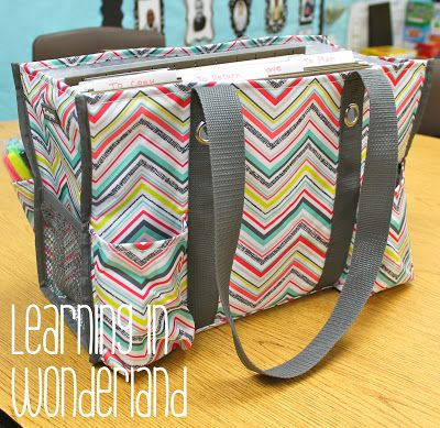 Organization Ideas- paper organizer inside your 31 bag for home-to-school organization