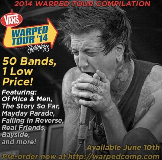 can you meet the bands at warped tour