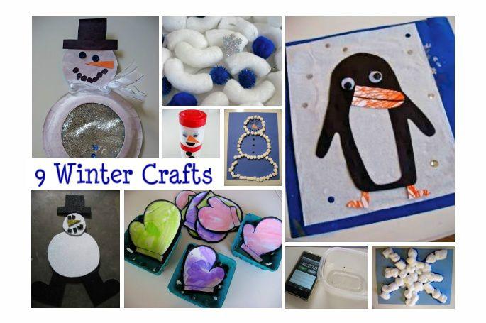 9 fun winter ideas!