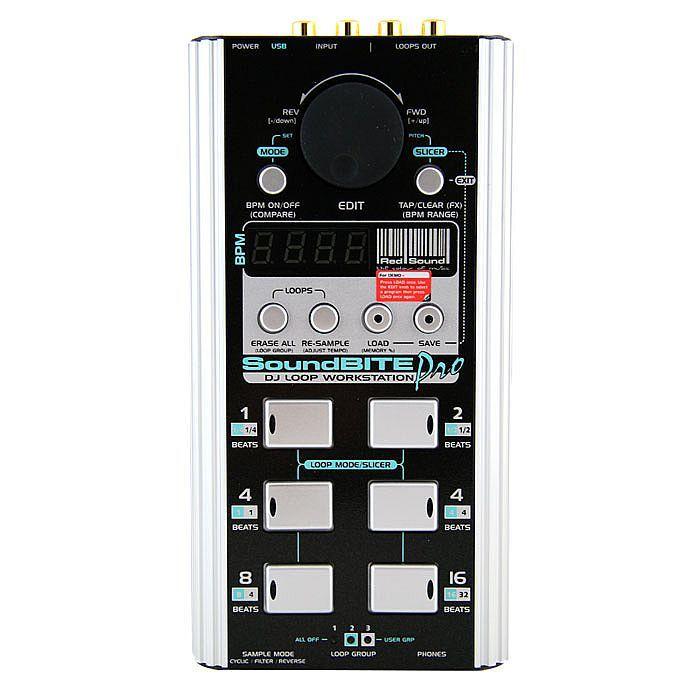 Red Sound SoundBITE Pro Professional DJ Loop Sampler at Juno Records