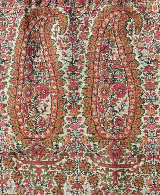 Wool Textile, Kashmir, 19th century