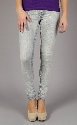 Loving these gray jeggings- and they're only $20!