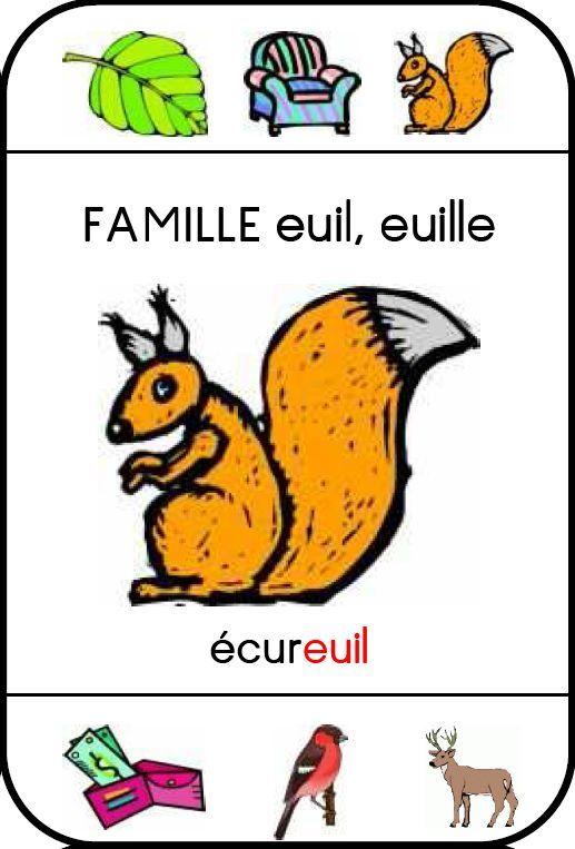 Jeu des sept familles pour apprentissage des sons en lecture : famille-euil-ecureuil.JPG
