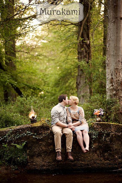Forest Themed Pre Wedding Photos