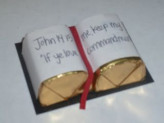 Hershey nuggets scriptures. Cute idea for agape gifts!