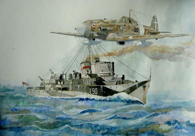 HMS Ledbury in the Mediterranean