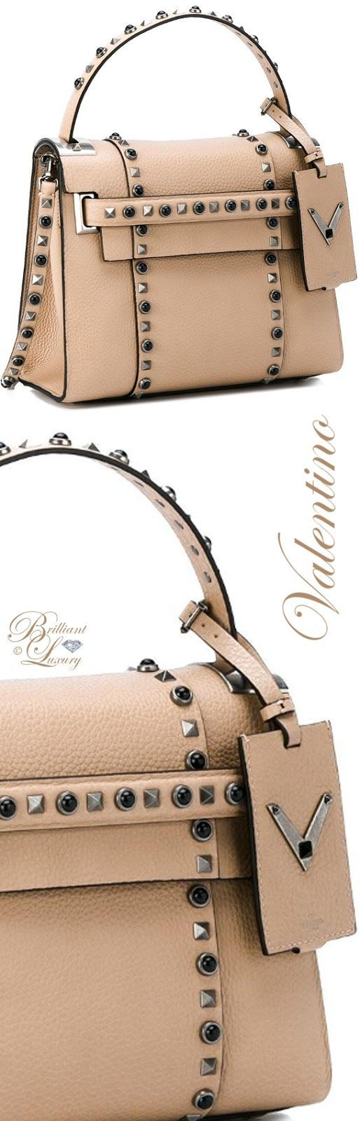 Brilliant Luxury by Emmy DE ♦ Valentino Garavani 'My Rockstud Rolling' Tote