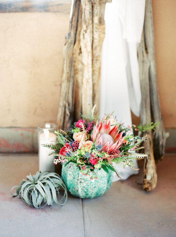 Event Planning: Imoni Events - http://imonievents.com Floral Design: Atelier De LaFleur - http://lafleurevents.com/ Venue: Tanque Verde Guest Ranch - http://www.stylemepretty.com/portfolio/tanque-verde-guest-ranch   Read More on SMP: http://www.stylemepretty.com/2016/10/04/colorful-same-sex-desert-wedding/