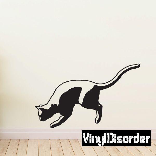 Best Cats Images On Pinterest Vinyl Decals Car Decals And - Vinyl decal cat pinterest