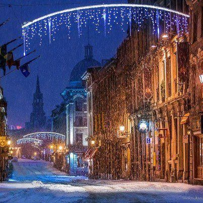 Christmas in Montreal, Canada