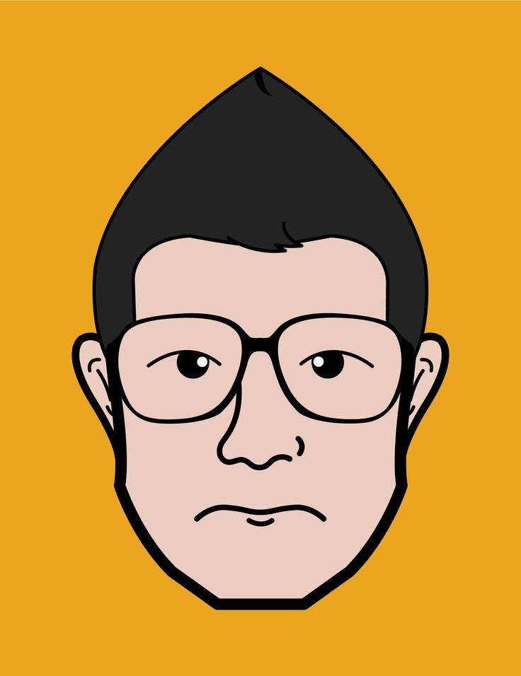 17 Best Images About Face Illustration On Pinterest