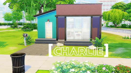 CHARLIE // part 3 out of 5 in the 'Tiny Living Series' inspired by its namesake, the 'Tiny Living Challenge'. Charlie is for your funky sims who are looking for a modern and colorful abodecc/mods: separated bed frames by annachibisims, double bed ikea matresses by veranka, horizontal curtain blinds by adonispluto (mts), and joe's bean bag conversion by grazeness.lot value: § 19,961lot size: 20 x 151 bed, 1 bathrequires Get Together and Spa Daybb.moveobjects on useddownload here…