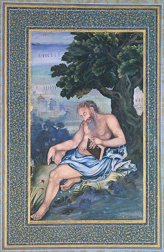 Keshav Das, St. Jerome, 1580-85: