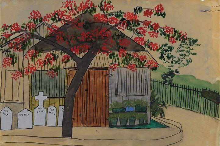 Elizabeth Bishop, also a wonderful painter ...