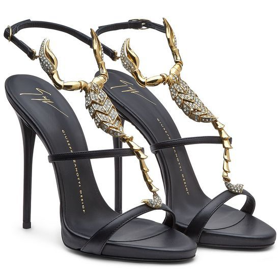 Sandals - Shoes Giuseppe Zanotti Design Women on Giuseppe Zanotti Design Online Store @@NATION@@ - Spring-Summer collection for men and women. Worldwide delivery. |  E40276001 - SCORPIO