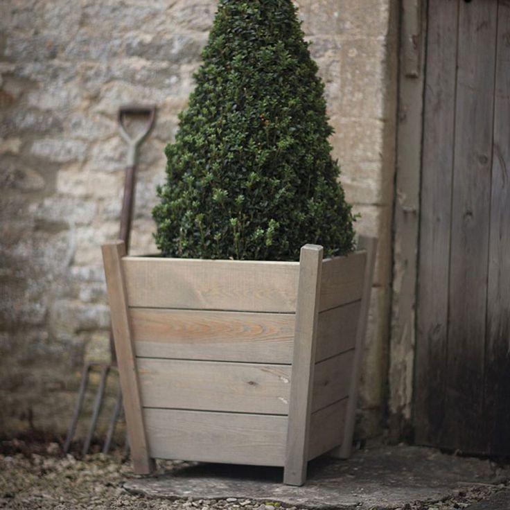 Kingham Large Wooden Planter