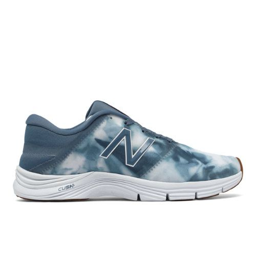 New Balance 711v2 Graphic Trainer Women's Cross-Training Shoes - Blue/White (WX711SP2)