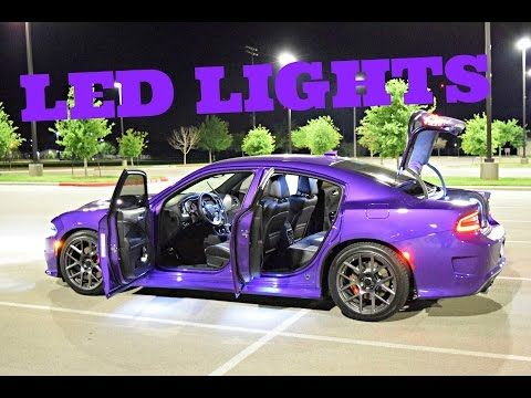 2015+ Dodge Charger RGBW DRL LED Boards Diode Dynamics Installation by ModFX - YouTube
