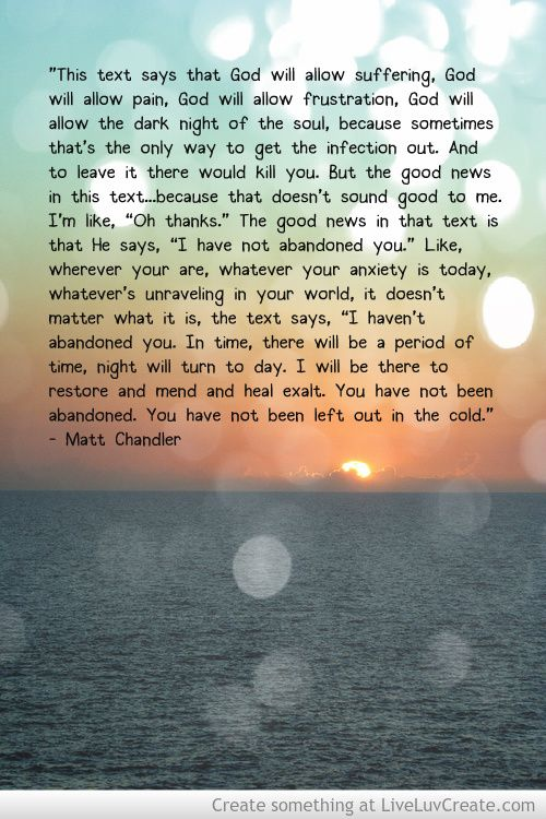 matt chandler quotes on worry - Google Search