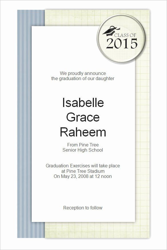 New Formal Invitation Template Word In 2020 Invitation Templates Word Graduation Invitations Template Free Party Invitation Templates