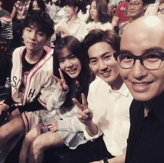 Hong Suk Chun Shows Support For BoA's Participation In 'Hidden Singer 4' - http://imkpop.com/hong-suk-chun-shows-support-for-boas-participation-in-hidden-singer-4/