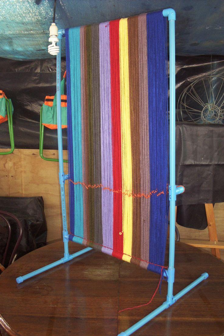 Telar tapiz en pvc - back
