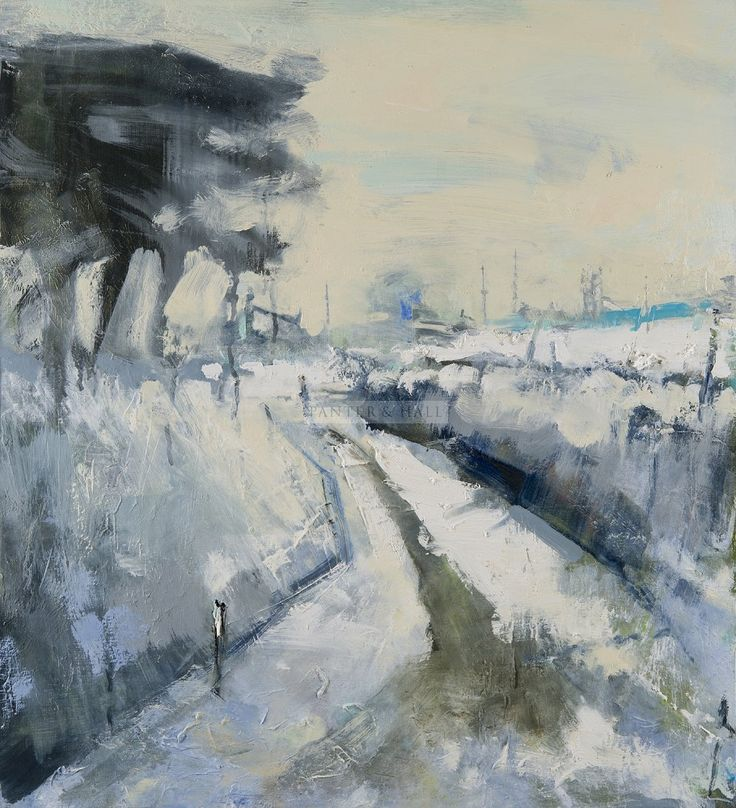 Hannah Woodman February Snowfall, Dartmoor