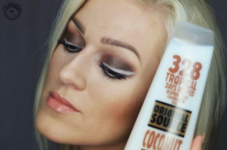 Coconut makeup :)  #originalsource #coconut #makeup