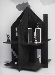 игрушечный домик для детей - дом с привидениями